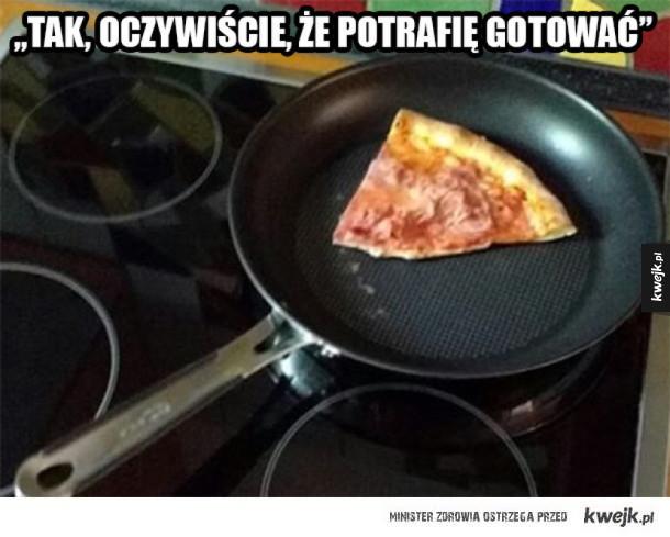 Moje umiejętności w gotowaniu