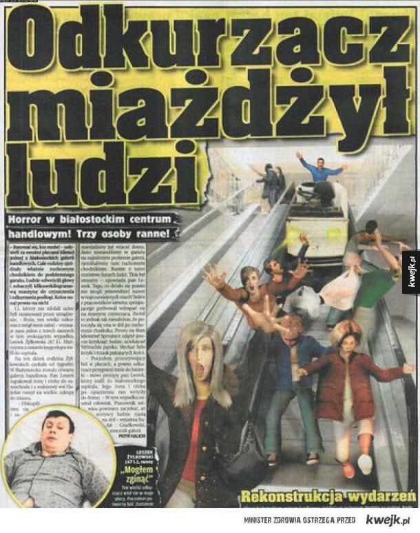 Polskie tabloidy to stan umysłu