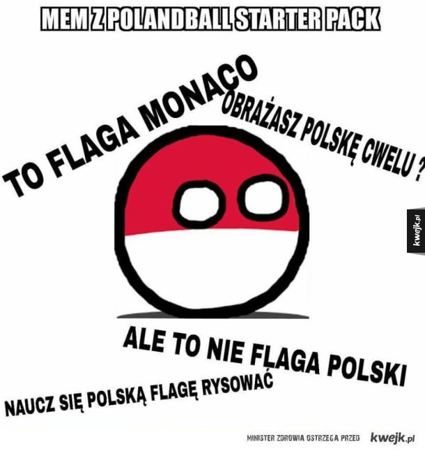 Sekcja komentarzy pod Polandballami