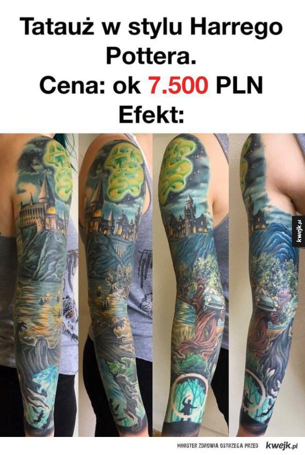 Tatuaż Jaki Zrobiła Sobie Fanka Harryego Pottera