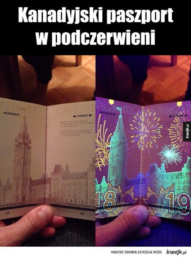 kanadyjski paszport