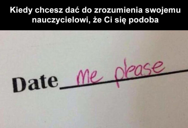 panie nauczycielu drogi