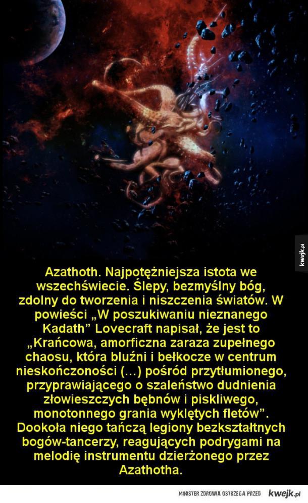Przerażające istoty z Mitologii Cthulhu