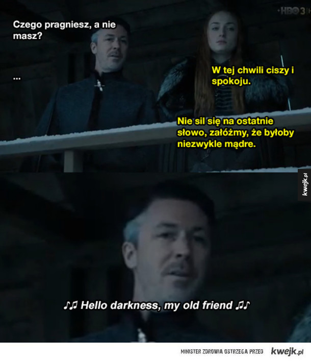 Co ta Sansa XD
