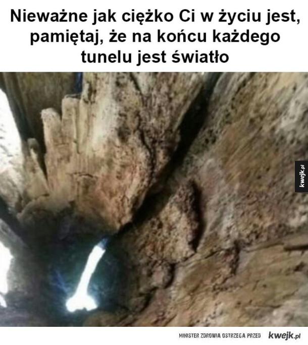 Światełko na końcu tunel
