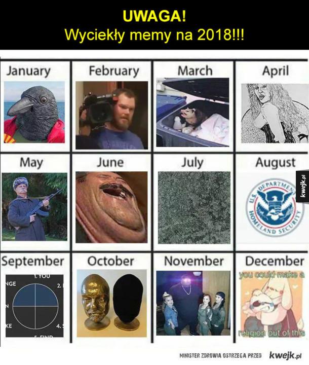 Memy 2018