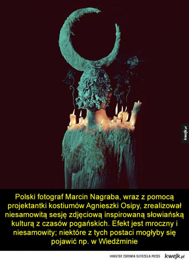 Sesja inspirowana słowiańską mitologią