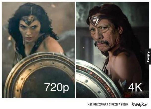 różnica w grafice