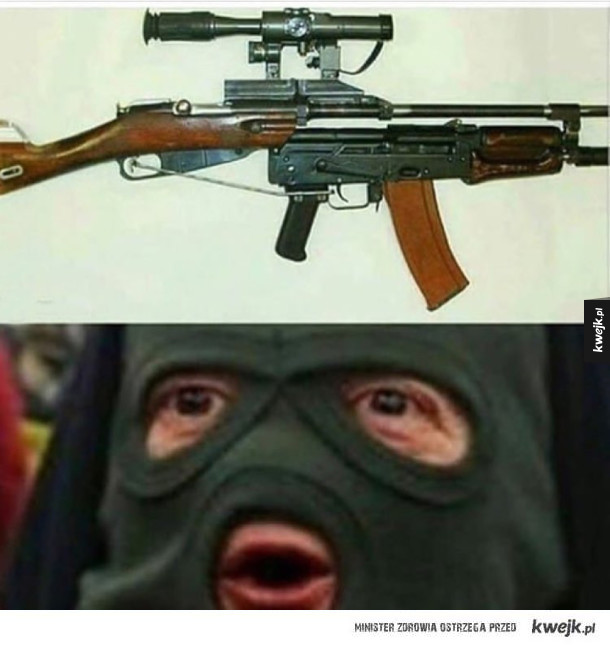 Terrorysta się podjarał