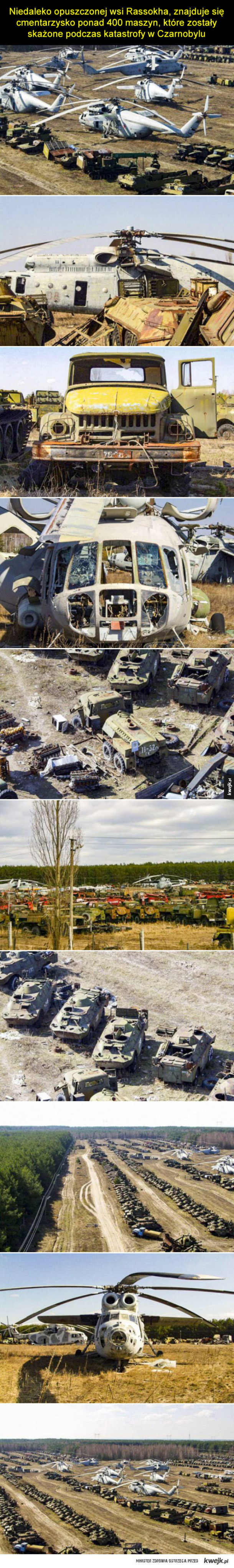 Cmentarzysko maszyn z Czarnobyla