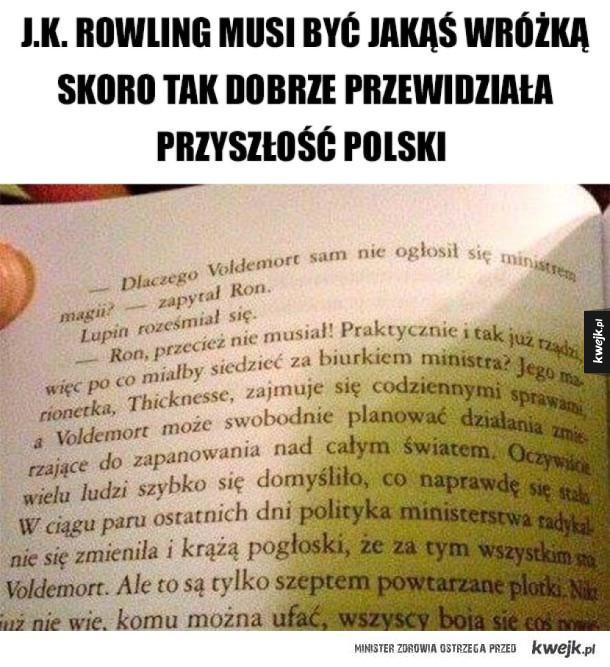 J.K. Rowling przewidziała przyszłość Polski