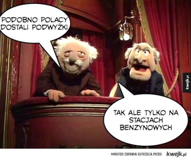 Podwyżki w Polsce