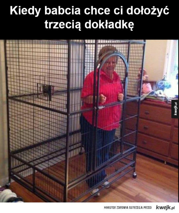 babciu uspokój się