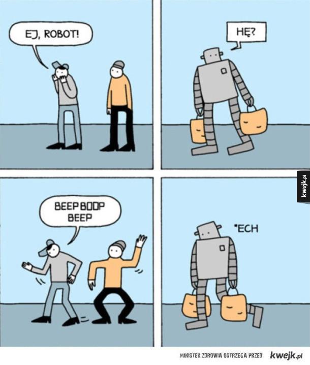 Żarty z robota