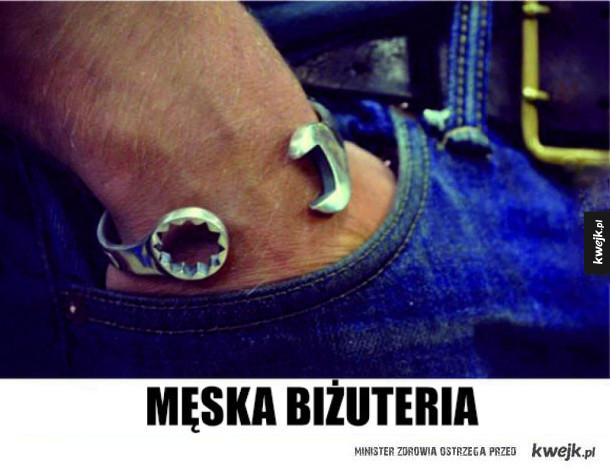 Męska biżuteria