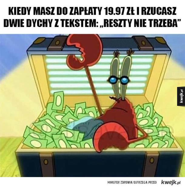 Jestem bogaty