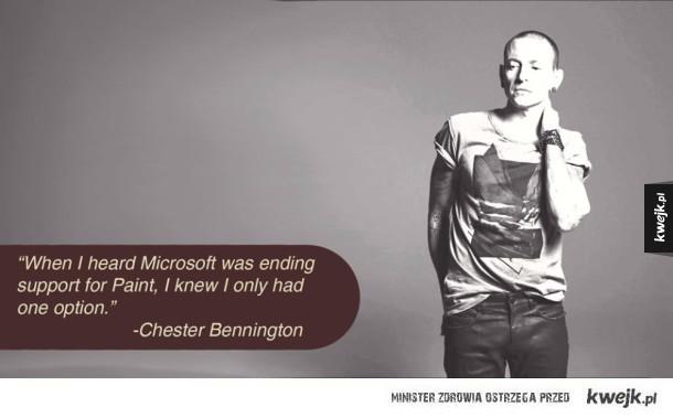 Prawdziwa przyczyna śmierci Chestera!