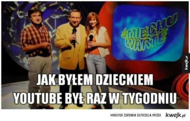 Taki był kiedyś YouTube
