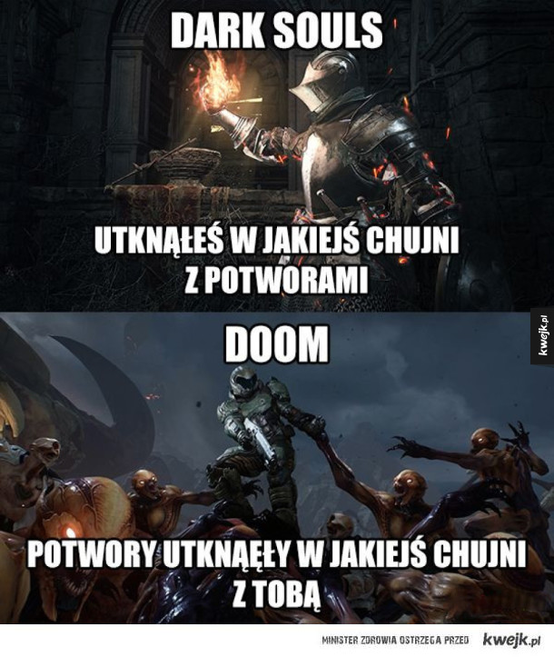 Dark souls vs Doom