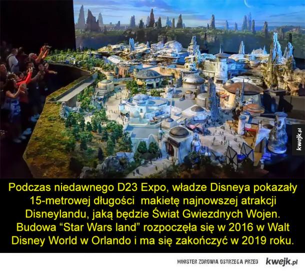 Star Wars land wkrótce w Disneylandzie
