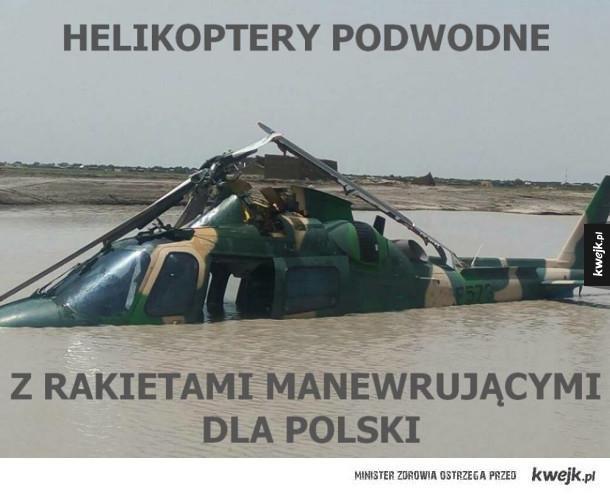 W końcu mamy helikoptery