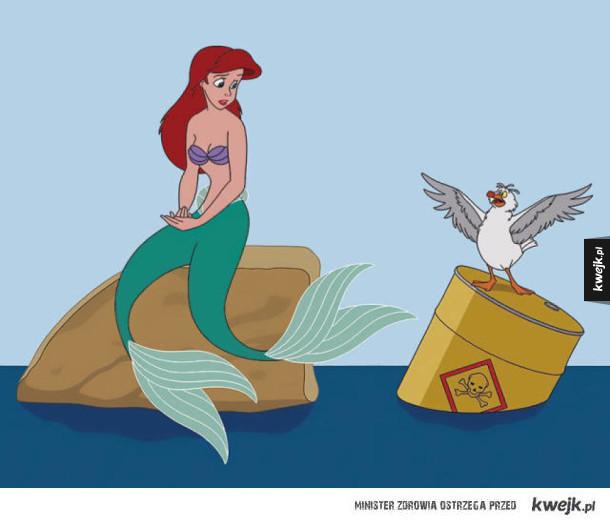 Postacie Disneya obrazują co jest nie tak z dzisiejszym światem