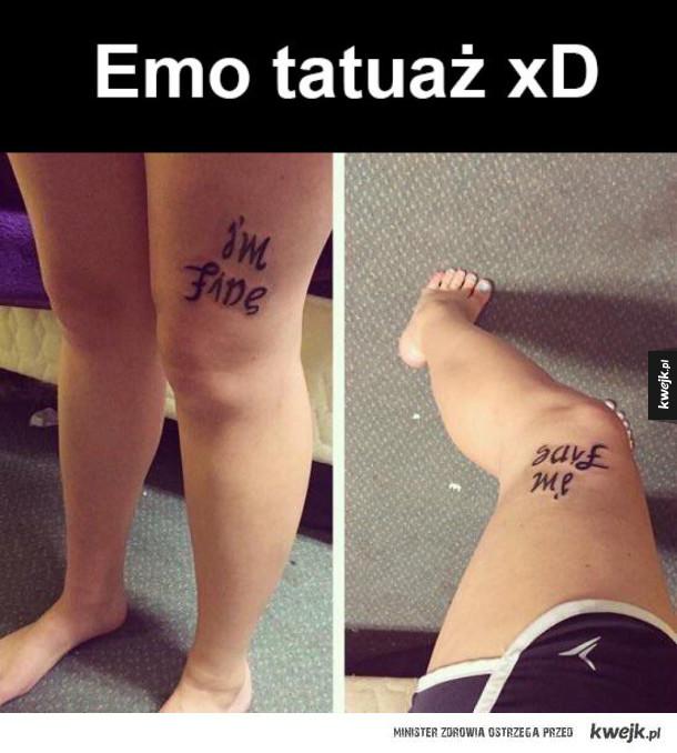 emo jest dziwne