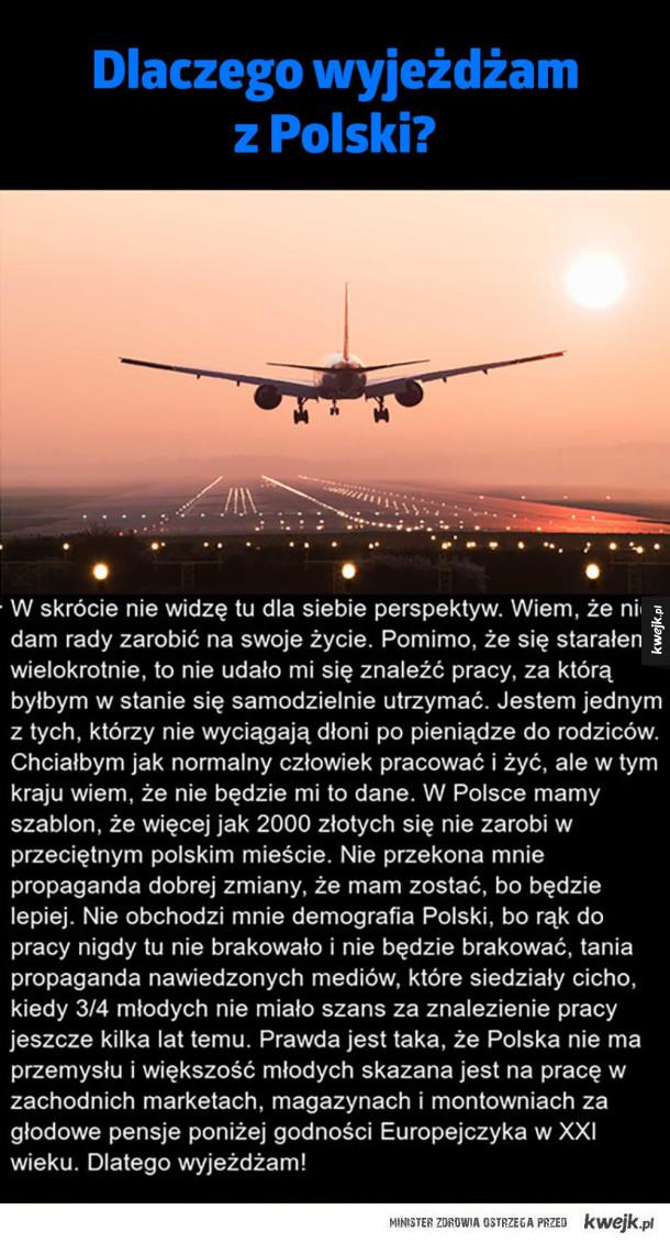 Wyjazd z Polski