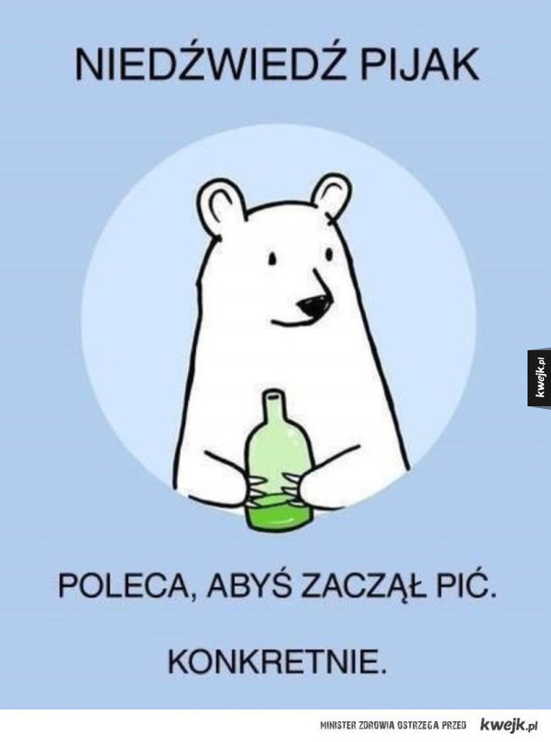 Niedźwiedź pijak