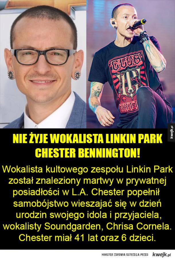 Smutna wiadomość dla fanów Linkin Park!