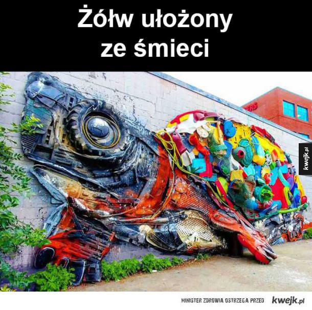 świetny street art!