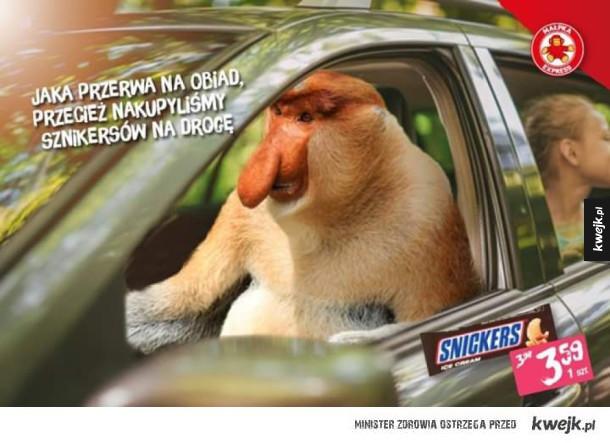 Widzieliście ostatnią reklamę snickersa?! GENIALNA!