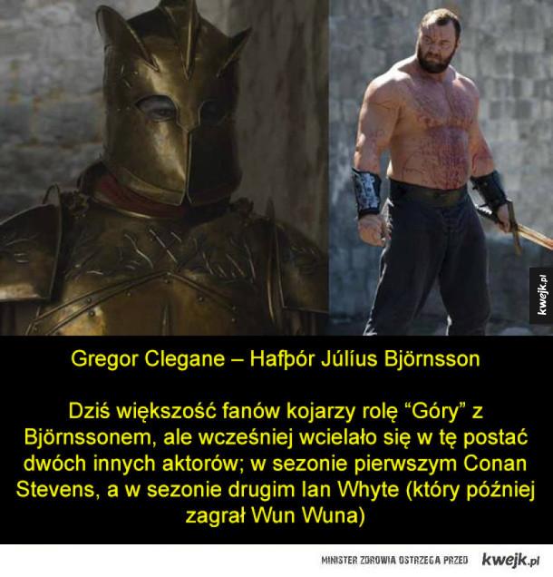 Aktorzy z Gry o Tron, którzy kryją się pod maskami lub charakteryzacją