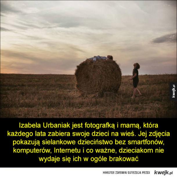 Dzieciństwo bez technologii na zdjęciach polskiej fotografki