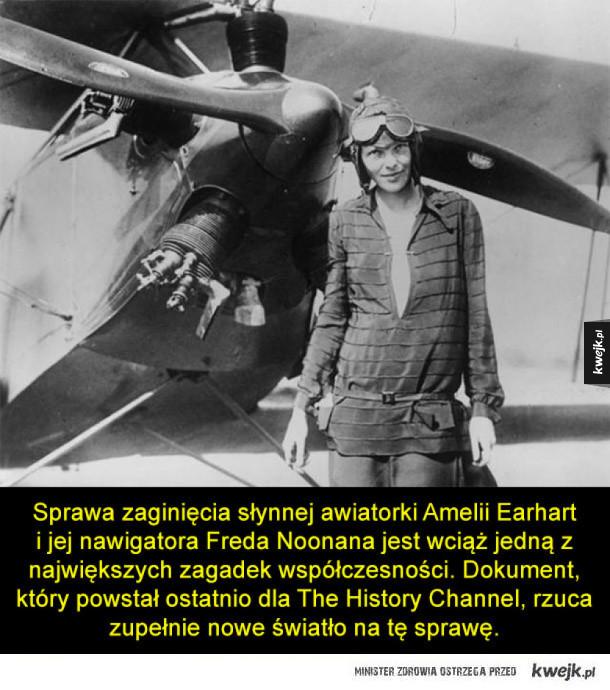 Tajemnica zaginięcia Amelii Earhart wyjaśniona?