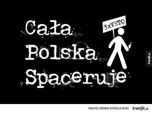 cała Polska spaceruje