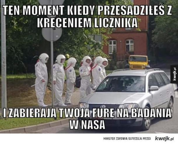 NASA zgłosiła się po samochód