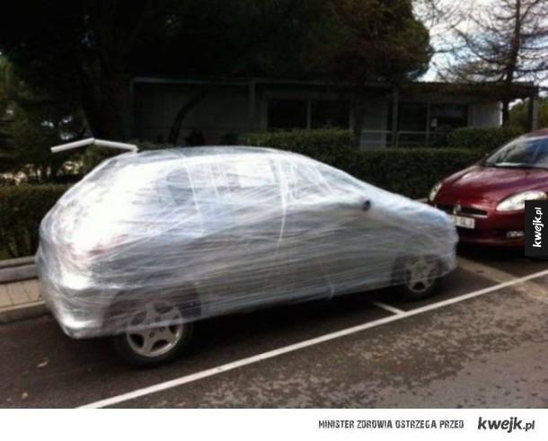 Mistrzowie parkowania kontra karma