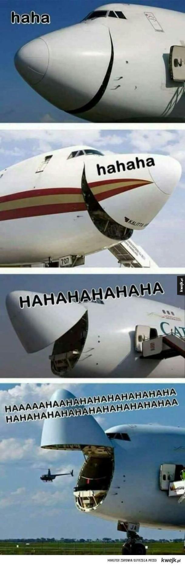 Rozbawione samoloty