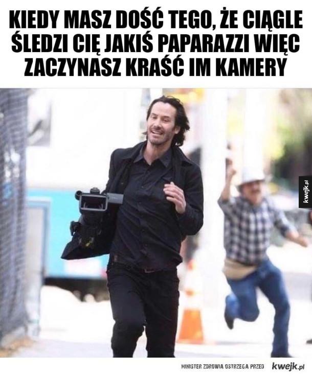 Keanu Reeves nie wytrzymał