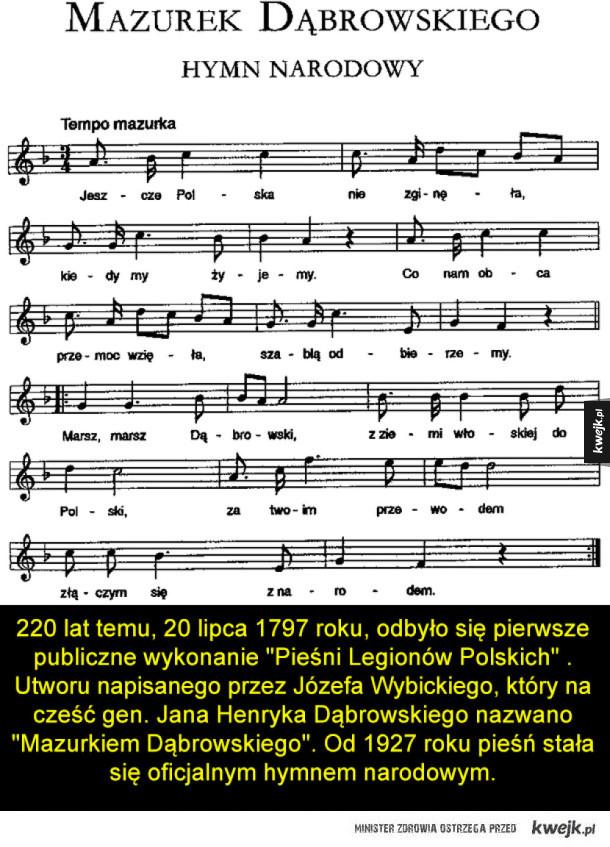 Pieśń legionów polskich