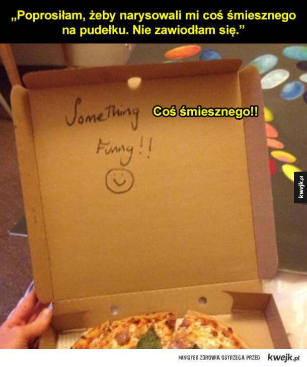 Pizza na specjalne życzenie