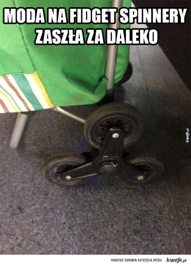 Polski fidget spinner
