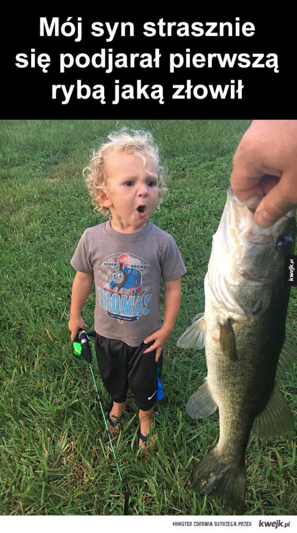 pierwsza rybka