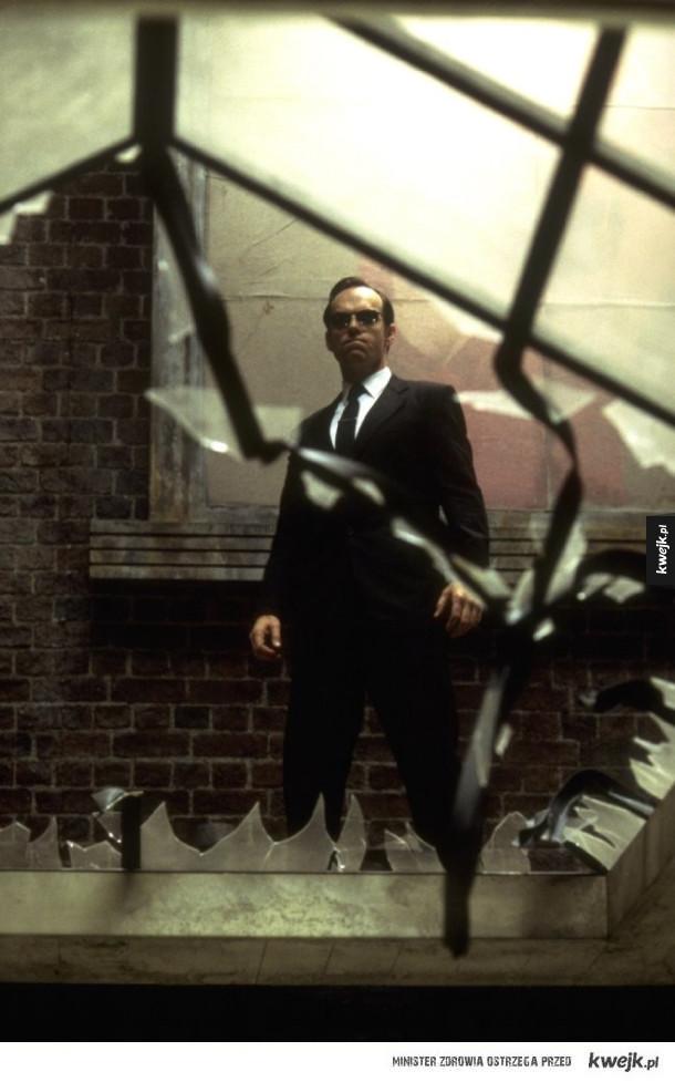 Agent Smith - Genialny kadr!