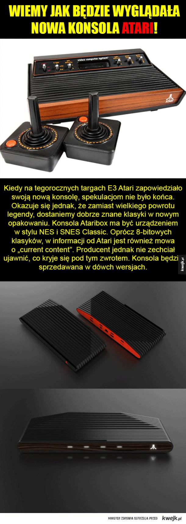 Nowa Konsola od Atari!