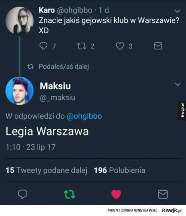 Klub w Warszawie