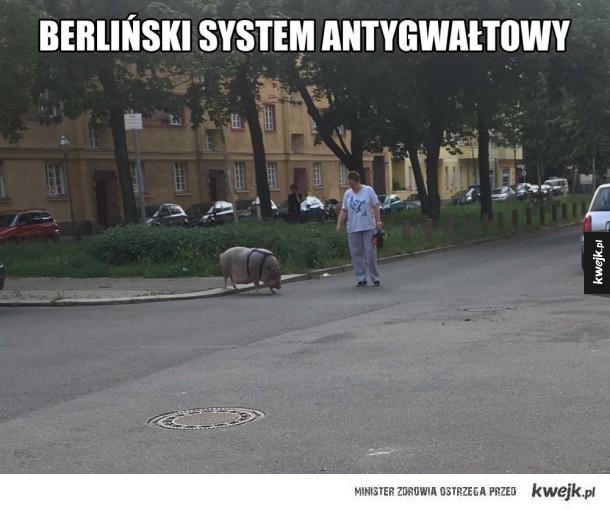Berliński system obronny