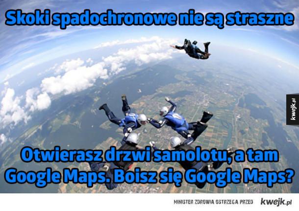 Skoki spadochronowe nie są straszne