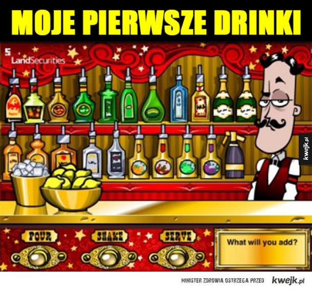 Tak się zaczynało z alkoholem